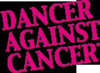 Logo Dancer Against Cancer